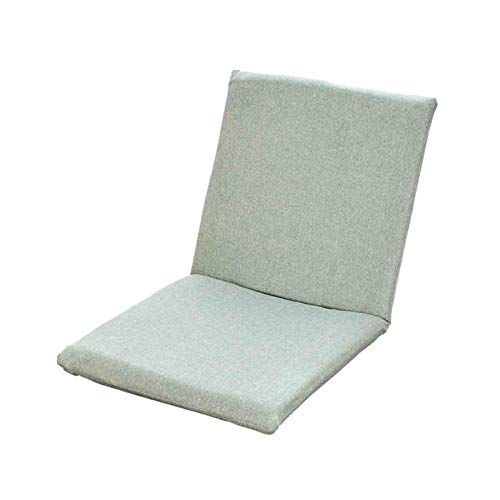 WUTONG Silla de Piso Tumbonas de Interior Sillas reclinables Plegables con Respaldo Ajustable para meditación, Yoga o Juegos, Adecuado para el hogar u Oficina