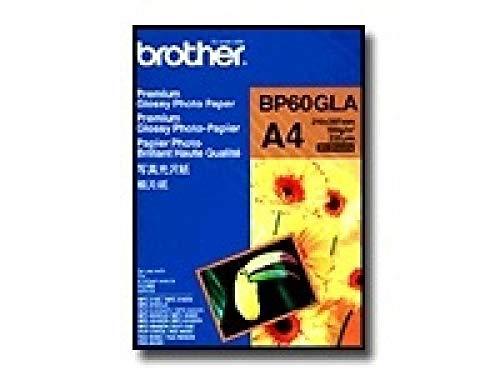Brother BP60GLA Fotopapier A6 Foto-Papier - 190 g/m² - 210x297 mm - 2 Blatt