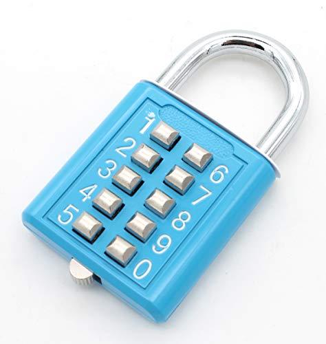 南京錠、デジタルパスワードロック、ボタンパスワードセキュリティ南京錠は、荷物、ロッカー、ボックス、フェンス、自転車、引き出しなどに適しています