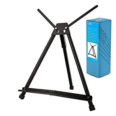 US Art Supply Table Top Aluminum Artist & Display Easel (Large - Double Arm)