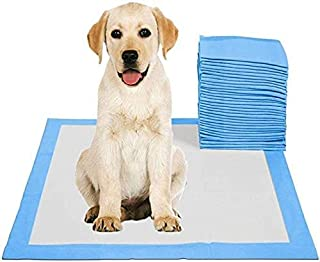 SKY-TOUCH Disposable Absorbent Quick Drying Leak-Proof Pee Pads for Potty Training for Pets, 45x60cm M - 50 Pieces