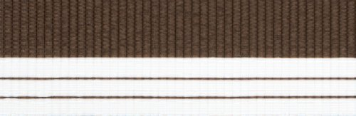 Doppelrollo mit Blende – Doppel Rollo – Kettenzug - 120 cm (Breite) x 180 cm (Länge) in Braun