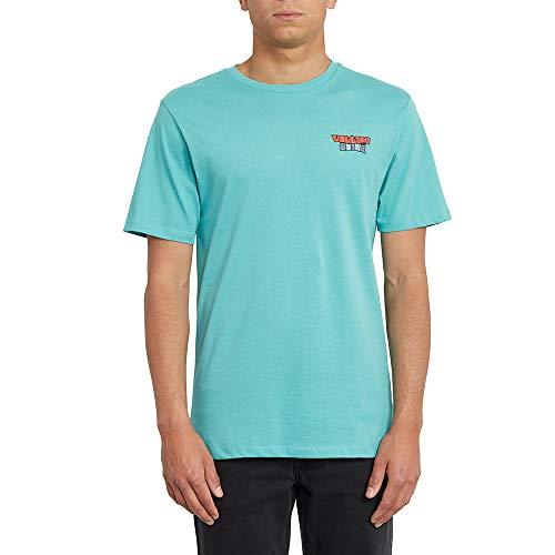 Volcom Daybreak Fty SS Herren-T-Shirt M Mysto grün