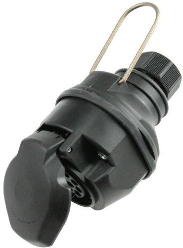 as - Schwabe 60466 Caravan Kupplung 13-polig mit Sicherungsbügel