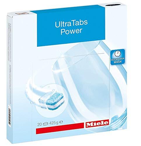 Miele&CIE Ultra Tabs Power 10744450 (VE20) Accessoires voor vaatwasser, was- en droogapparaat 4002515901052