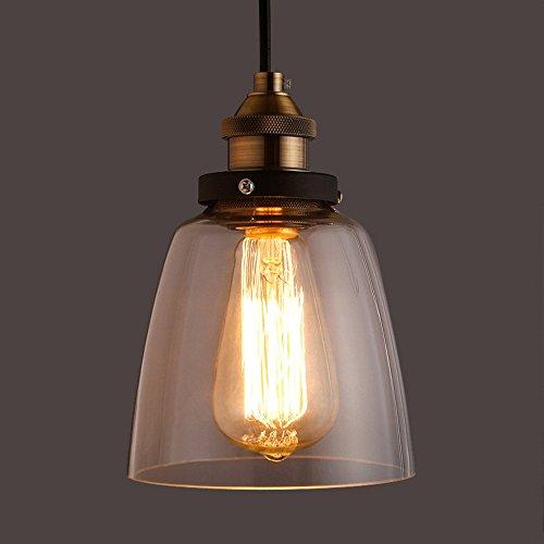 Lampe rétro vintage Suspension plafond Ampoule Edison E27