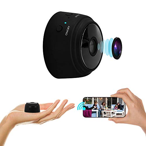 Bogasu Mini Hidden Camera WiFi Video Camera 1080P HD Security Surveillance Cameras 32G SD Card, Security Cam with Night Vision Camera with Audio Live Feed WiFi Security cam with Phone app