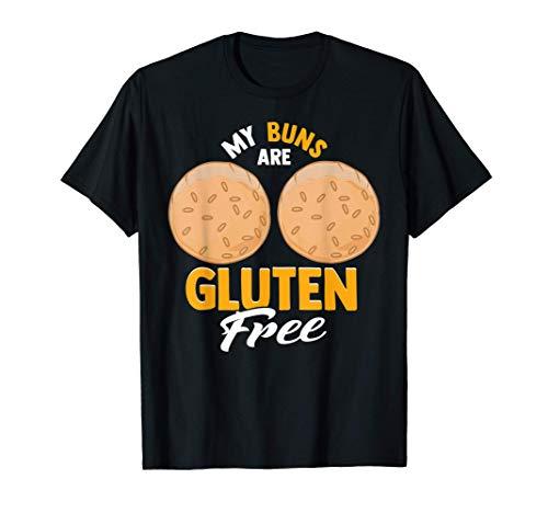 Panes sin gluten Pan de molde Parodia de traseros Cita diver Camiseta