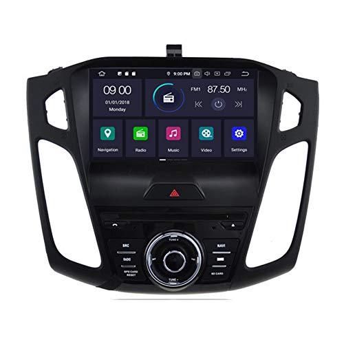 Autosion Android 10 Octa Core 64 RAM lecteur DVD de voiture GPS Radio Navigation Autoradio stéréo Wifi pour Ford Focus 2015 2016 2017 prise en charge Steeirng Wheel Control