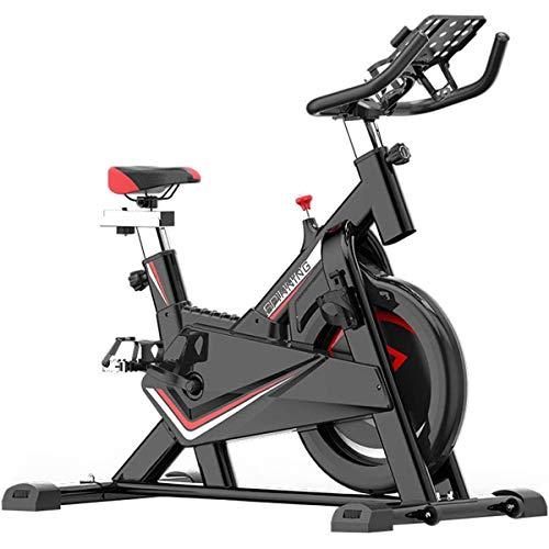 Indoor Cycling hometrainer, Resistance Adjustment, volledig omgeven vliegwiel, voor Huis Cardio Gym, met comfortabele zitkussen