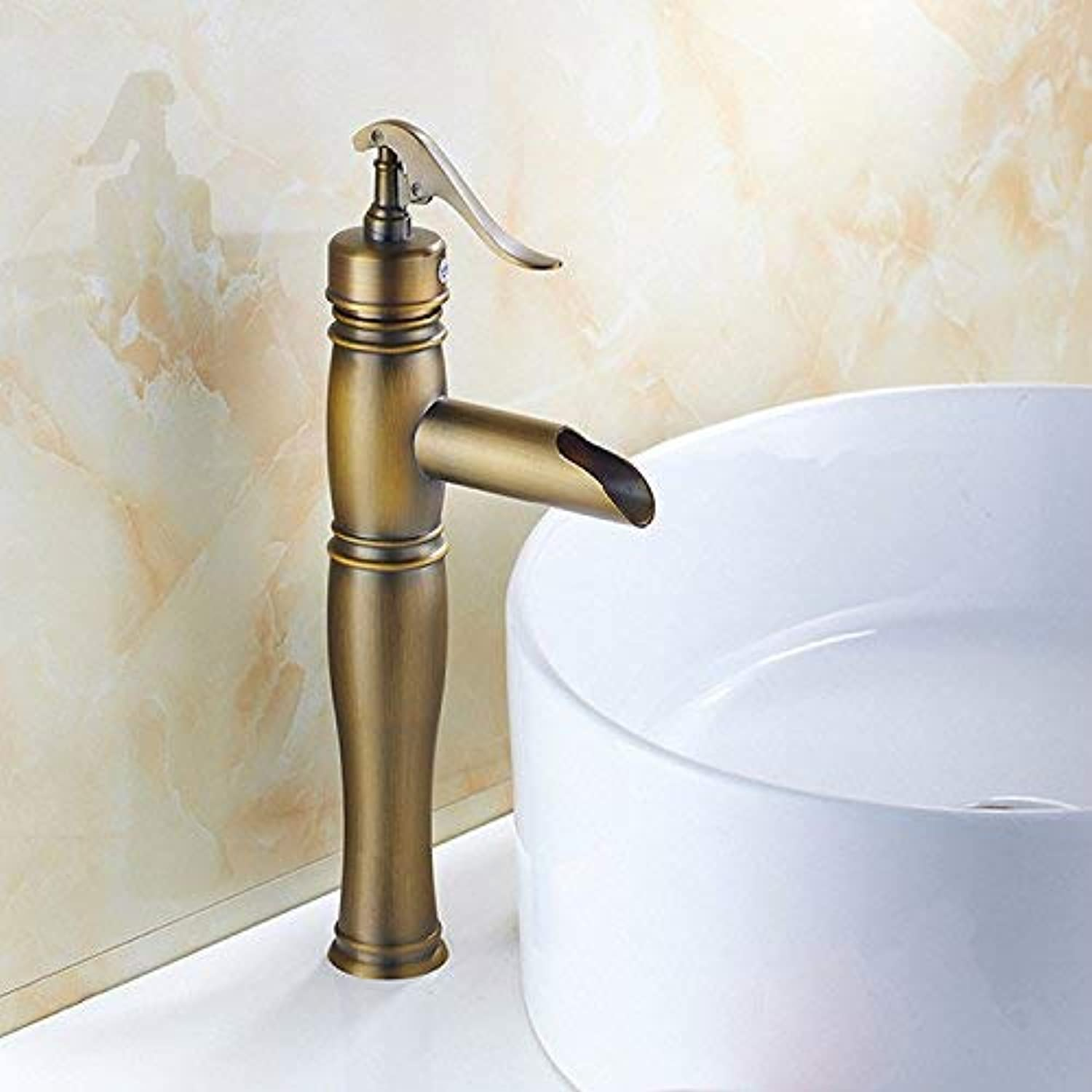 Oudan Basin Mixer Tap Bathroom Sink Faucet Antique Basin Faucet 39 (color   27)