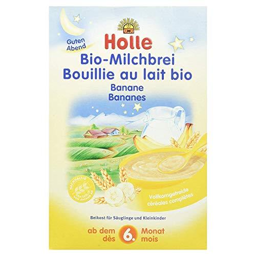 Holle - Bouillie au lait et aux bananes, après 4 mois