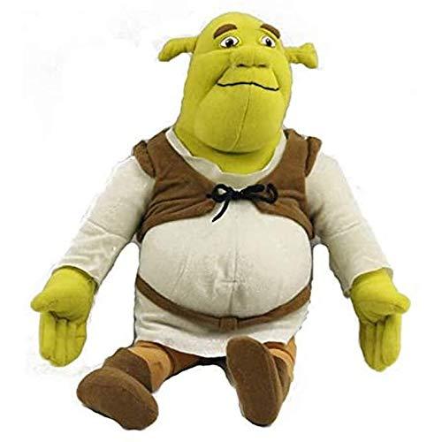 Jpenxv Juguete de Peluche de Shrek, Regalo de cumpleaños navideño para niños, 40 cm, 1 Pieza