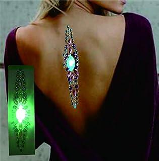 Led haar en lichaam juwelen haar sieraden LEH05b bont voor feestjes festivals concerten