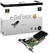 EVGA 256-P1-N399-LX e-GeForce 6200 256MB DDR2 PCI Graphics Card