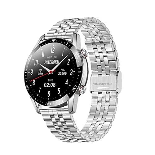 Runfon Inteligente Venda de Reloj de Bluetooth Llamada Fitness Deportivo Relojes de Pantalla táctil Completa SmartWatch Impermeable para Mujer de los Hombres de la Astilla