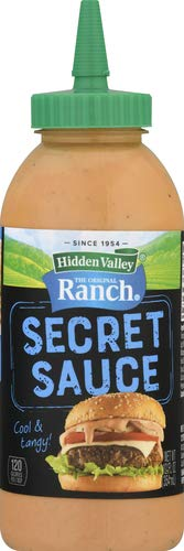 Hidden Valley The Original Ranch Secret Sauce, Original - 12 Oz Squeezable Bottle (Package May Vary)