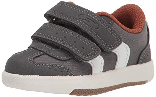 Dr. Scholl's Kids Kameron Boy Sneaker, Charcoal, 4 Toddler