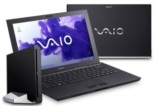 Sony VAIO Z23N9E/B 33,3 cm (13,1 Zoll)  Laptop  (Intel Core i7 2640M, 2,8GHz, 8GB RAM, 512GB HDD,Intel HD 3000, Win XP Pro) schwarz