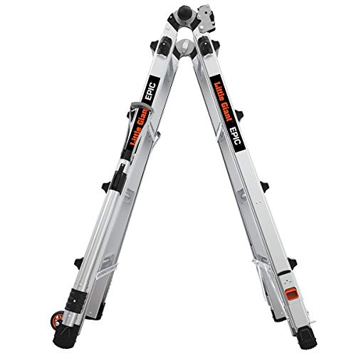 Little Giant Ladder Systems 16817-818 M17 Epic Ladder, 17 Ft, Aluminum