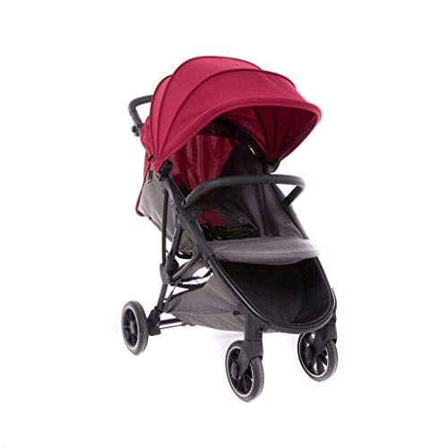 Baby Monsters Alaska color Bourdeaux + regalo Cool-Dreams - silla de paseo coleccion 2020