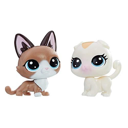 Littlest Pet Shop Radar Snowcat 2-72 & Bella Scotsfeld 2-73