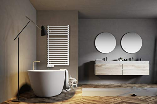 iVIGO PRO elektrischer Badheizkörper/Handtuch Radiator - ECO 450 Watt