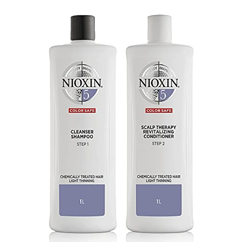 Nioxin System 5 for Chemically Treated Hair with...