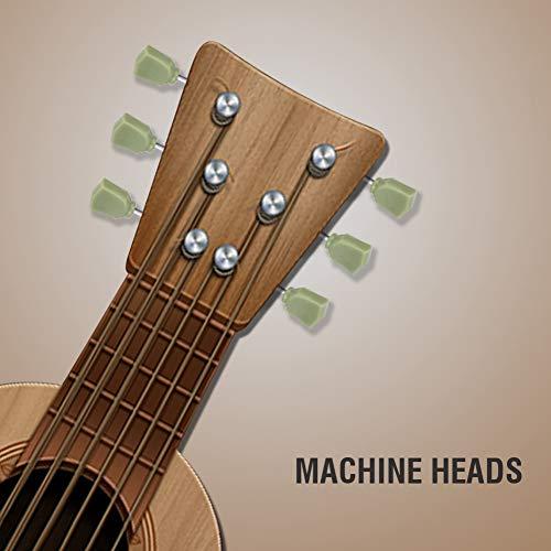 [Regalos de Navidad]Claves de afinación de repuesto decoración de clavijeros de guitarra, clavijas de guitarra eléctrica, para principiantes de guitarra eléctrica amantes guitarra popular