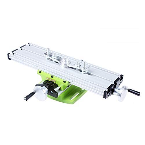 Mini Compound Bank Bohren Slide Tisch Arbeitsplatte Fräsen Arbeiten Kreuztisch Fräsen Schraubstock Maschine für Bank Bohrständer