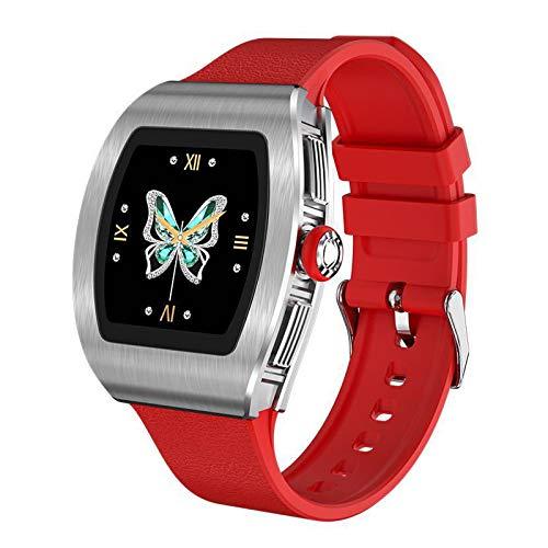 N \ A Relojes Inteligentes para Mujeres, Pantalla táctil Completa de 1.22', IP68 a Prueba de Agua, Reloj con Monitor de sueño, Regalos navideños, Reloj Inteligente para teléfonos Android e iOS