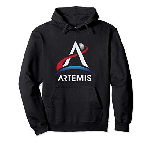 NASA Artemis Program Logo Official LT We Are Going Moon 2024 Pullover Hoodie