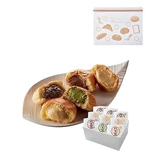 【フリーザーバッグ】八天堂 プレミアムフローズンくりーむパン9個詰合せ | クリームパン 冷凍パン セット スイーツパン 人気 クリーム カスタード 菓子パン 広島 お中元 ギフト