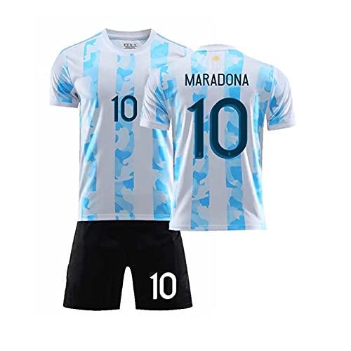 XXXH Diego Maradona # 10 Retro 1986 Copa del Mundo de Argentina...