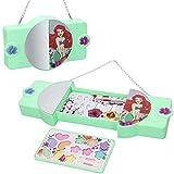 Disney - Maletín maquillaje Princesas Disney para niños y niñas, ,Pintauñas niñas Manicura juguete (77213)