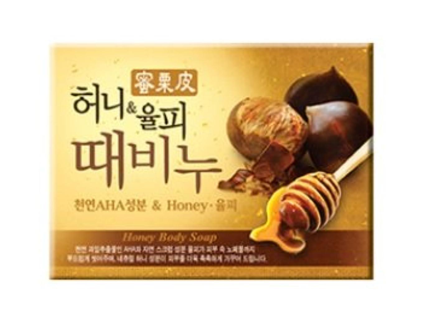 フィットネス帆先見の明ハニー栗皮 ソープ 100g / Honey Body Soap [並行輸入品]