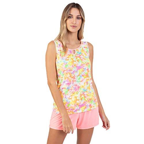 Massana - Pijama P211244 Rosa Fluor XXL, ROSA