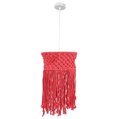 NIHY Lámpara de Techo, LED Decoración de Tejido de Cuerda de algodón Lámpara de Techo Decoración Pantalla de lámpara 85-265V