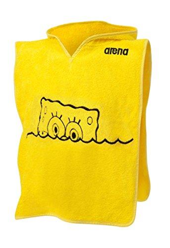 arena Serviette de Bain bob pour Enfant M Jaune/Noir - Yellow-Star