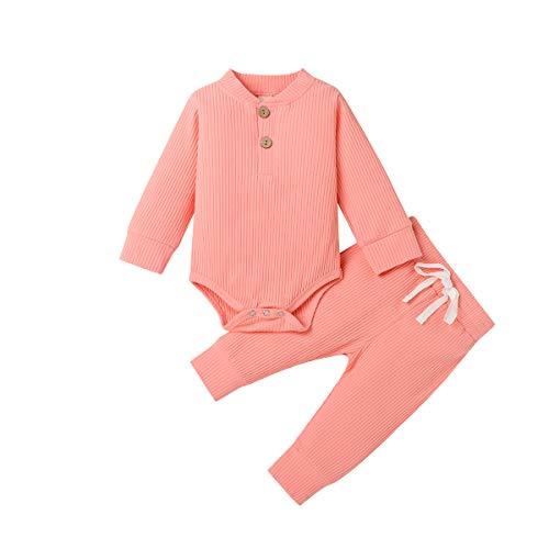 Pijamas para bebés recién Nacidos, Pantalones de Mameluco de Manga