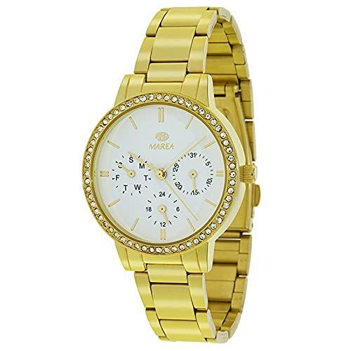 Reloj Analógico Marea B41205/4 Mujer Acero Dorado