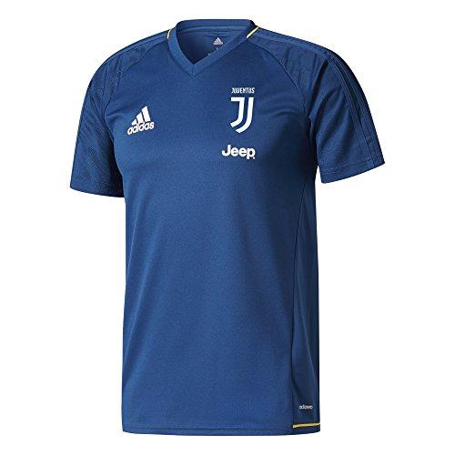 adidas Juve TRG JSY 2 Camiseta Entrenamiento Juventus 2017-2018, Hombre, Azul (azunoc/dorfue),...