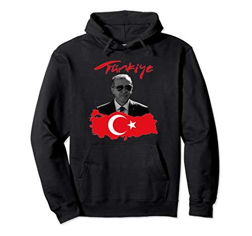 Recep Tayyip Erdogan Türkiye Flagge Pullover Hoodie