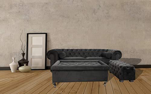 JVmoebel Chesterfield Sofa Polster Designer Couchen Sofas Garnitur Couch SLIII Sofa №18