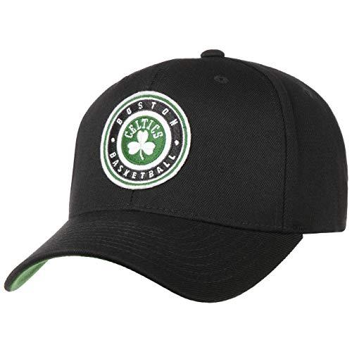Mitchell & Ness Gorra Varsity Patch 110 Celtics& de Beisbol Baseball (Talla única - Negro)