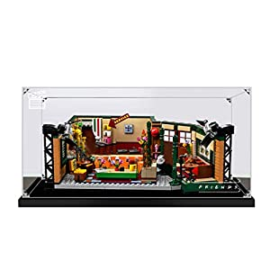 HYZM - Vitrina de acrílico para Lego Ideas Friends Central Perk Cafe 21319 modelo a prueba de polvo (modelo no incluido)