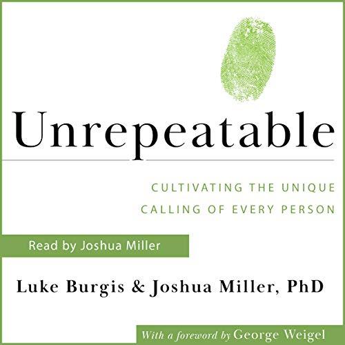 Unrepeatable audiobook cover art