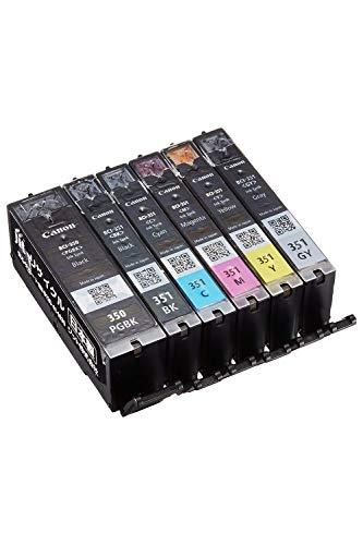 【Amazon限定ブランド】ジット 日本製 キャノン(Canon)対応 プリンター本体保証 リサイクル インクカートリッジ BCI-351+350/6MP 6色セット対応 JIT-NC3503516P