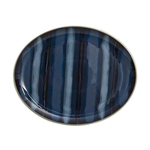 Denby USA Peveril Accent Plat ovale Bleu