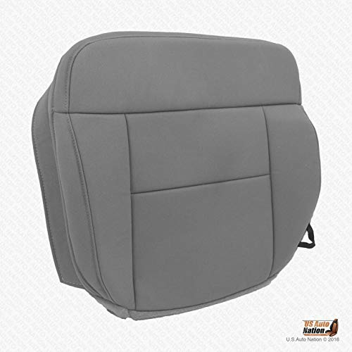 US Auto Nation 2004-2008 Fits Ford F-150 XLT -Driver Side Bottom Replacement Cloth Seat Cover Gray